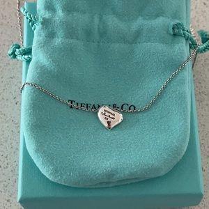 Tiffany & Co. Elsa Peretti Bean Heart Necklace